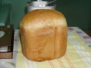 яичный хлеб из хлебопечки панасоник