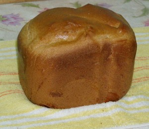Ржаной хлеб на пиве, хлебопечка Panasonic SD 255
