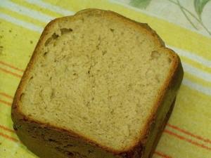 ржаной хлеб на пиве в разрезе