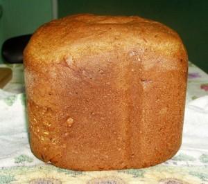 ржаной хлеб в хлебопечке с добавлением сухого кваса