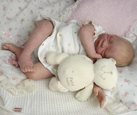 Авторская кукла-младенец