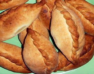 Пирожки Нежные — снова рецепт для хлебопечки