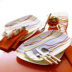 Квадратные тарелки