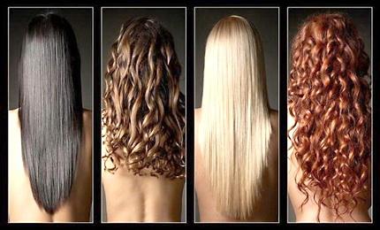 Выбор цвета волос онлайн