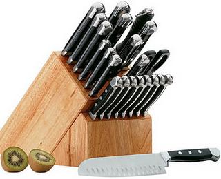 И снова о кухонных ножах. Джентельменский набор повара