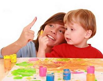 Выбираем игрушки по возрасту ребёнка. Пальчиковые краски