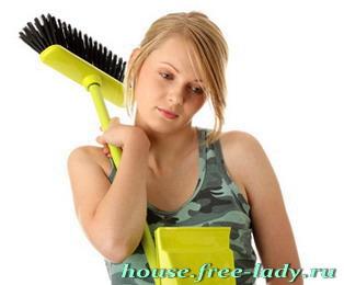 Уборка в доме избавит от лишних калорий и плохого настроения