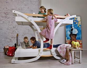 Двухъярусная кровать для детей