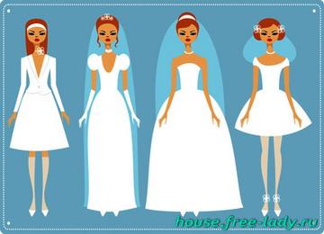 Почему платье невесты белое?
