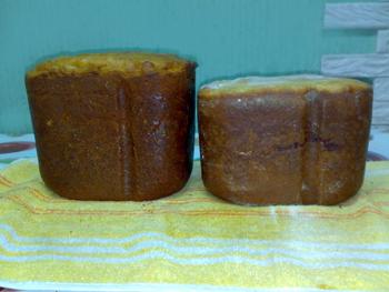 куличи в хлебопечке