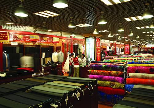 Шелковый рынок в Китае