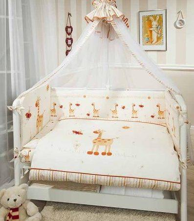 Выбираем комплект в кроватку малыша