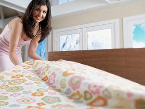 Как сохранить постельное бельё