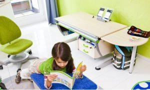учебная зона в детской комнате