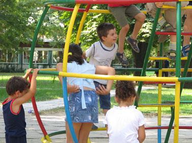 детская площадка - правила безопасности