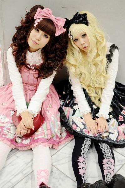стиль lolita-sweet