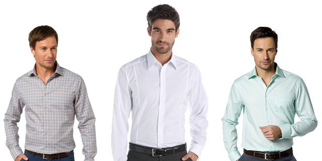 офисные рубашки для мужчин