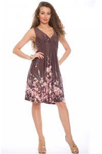 платье-сарафан из трикотажа