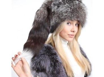 модная меховая шапка зима 2016