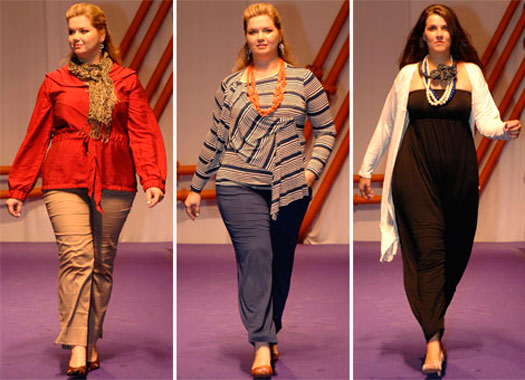 Модная одежда plus-size, как выбрать