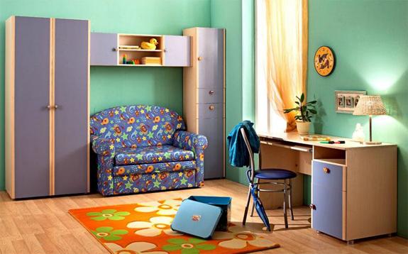 Детский уголок в малогабаритной квартире