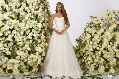 А-силуэт — универсальные модели свадебных платьев