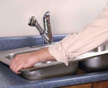 как установить врезную мойку на кухне